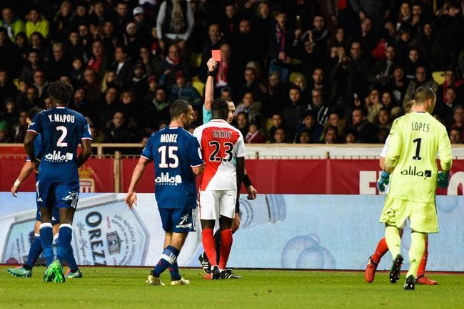 Monaco: Mendy seul absent contre Caen