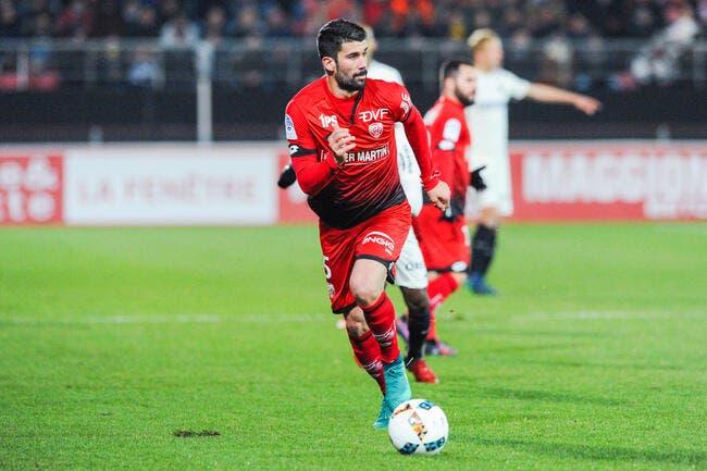 Mercato : Quentin Bernard quitte Dijon et signe à Brest