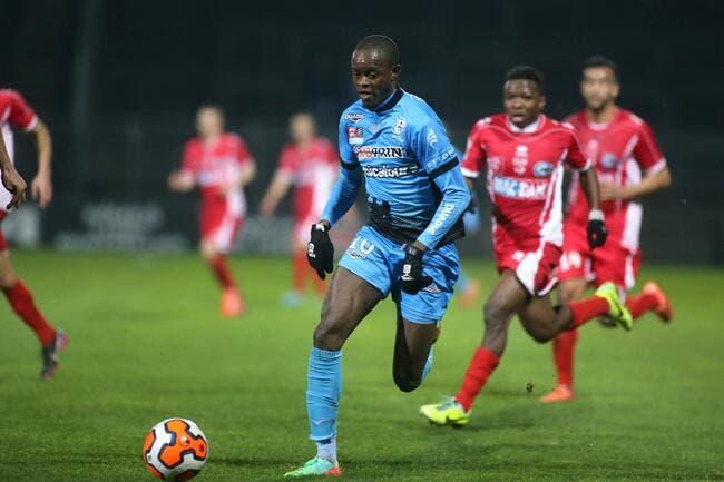 Officiel : Kouakou signe à Caen jusqu'en 2019