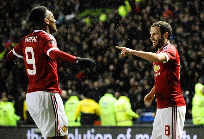 Le but parfait de Martial pour Manchester United