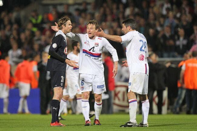Le OL-Bordeaux de 2010, Plasil ne le digère toujours pas