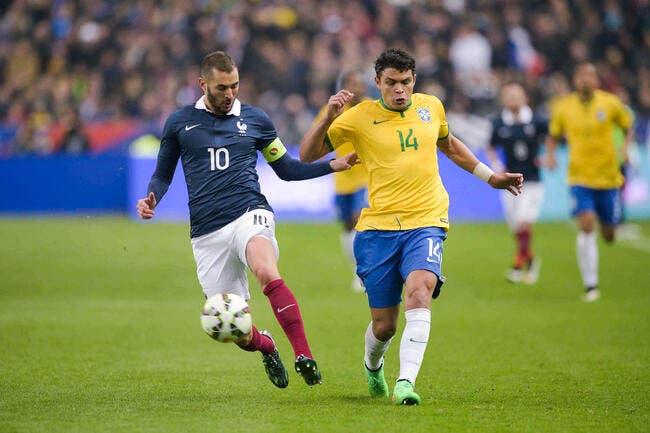 Quand Thiago Silva se mêle de l'affaire Benzema