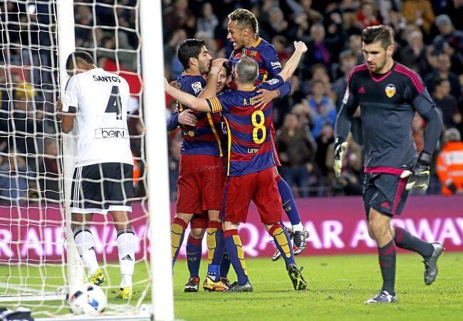 Barcelone - Valence 7-0