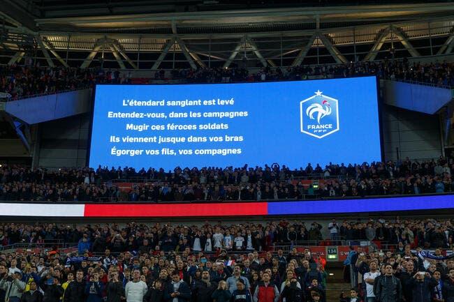 Chanter la Marseillaise ou pas ? Pour lui c'est presque obligatoire