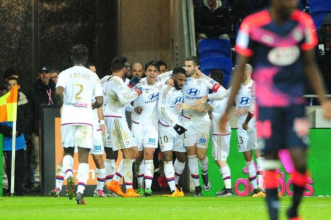 Lyon rugit de plaisir, Nice dépasse Angers