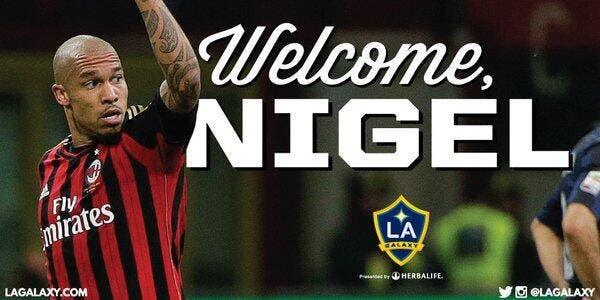 Nigel de Jong rejoint les LA Galaxy