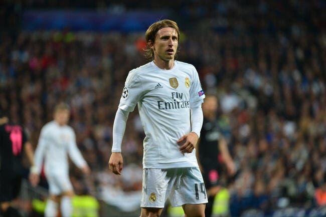 Zidane une mine d'or pour le Real Madrid selon Modric