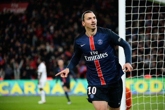 Ibrahimovic explique la suprématie du PSG en L1, à sa façon