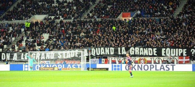Une banderole et Aulas se déchaine après OL-Bordeaux