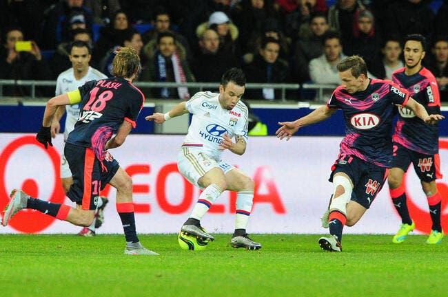 En interne, Valbuena fait douter l'OL