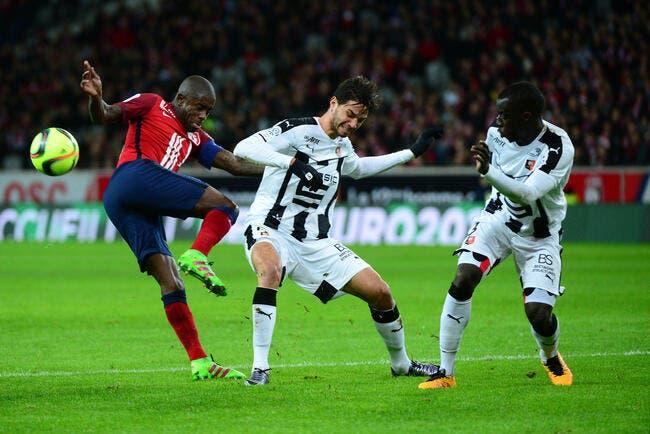 Boufal voit rouge et Rennes s'accroche à Lille
