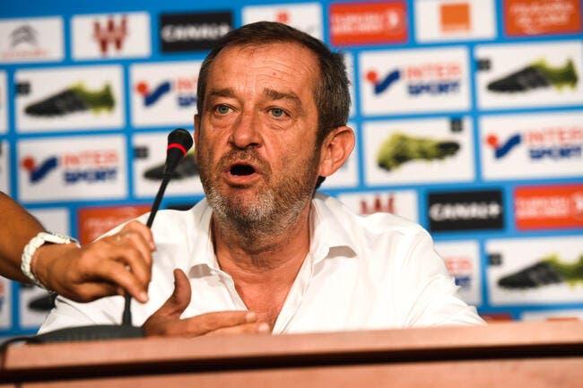 L'OM annonce le départ de Philippe Perez
