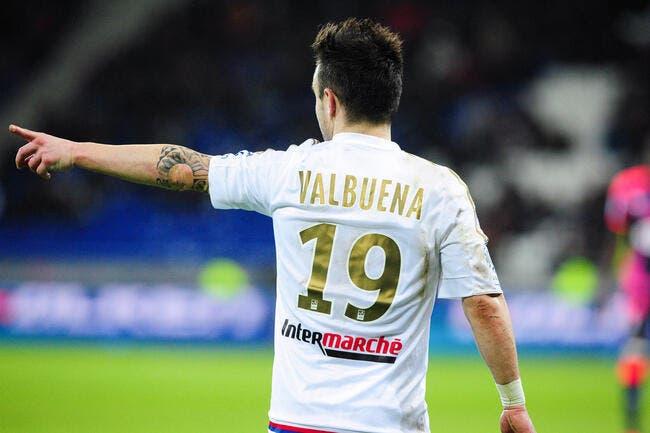 L'OL n'a jamais voulu sanctionner Valbuena