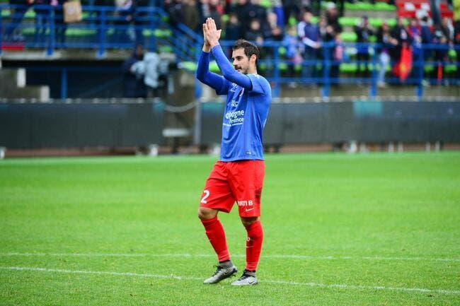 Nicolas Seube prolonge d'un an avec Caen