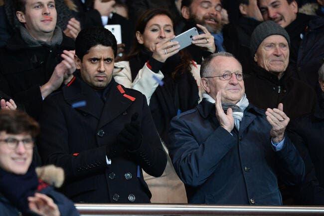 Aulas est toujours le boss du foot français malgré Al-Khelaifi