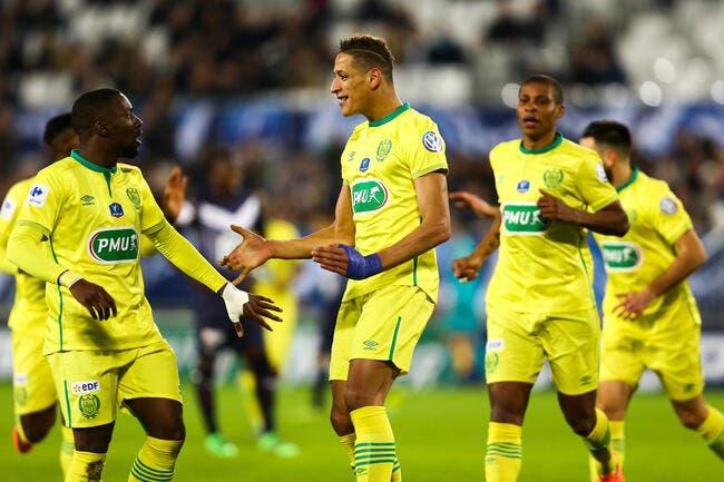 Nantes veut imiter le PSG après 14 matches sans défaite