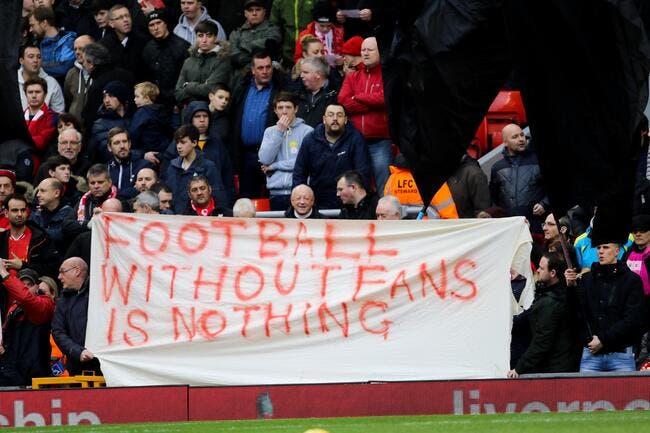 Liverpool craque sous la pression des supporters