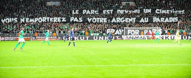 Banderoles : L'ASSE traine des pieds, le PSG s'énerve