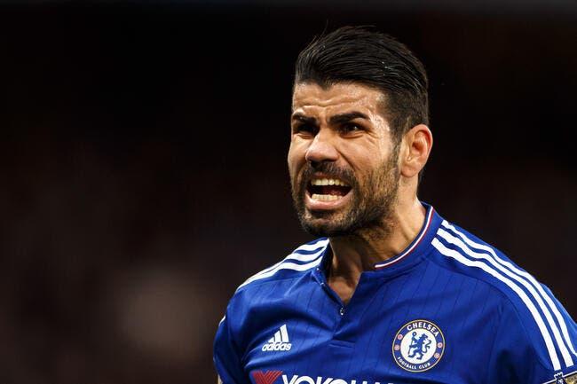 Nez cassé pour Diego Costa, présent contre le PSG