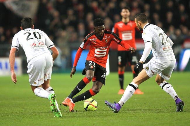 Rennes fait craquer Angers à la 91e minute !