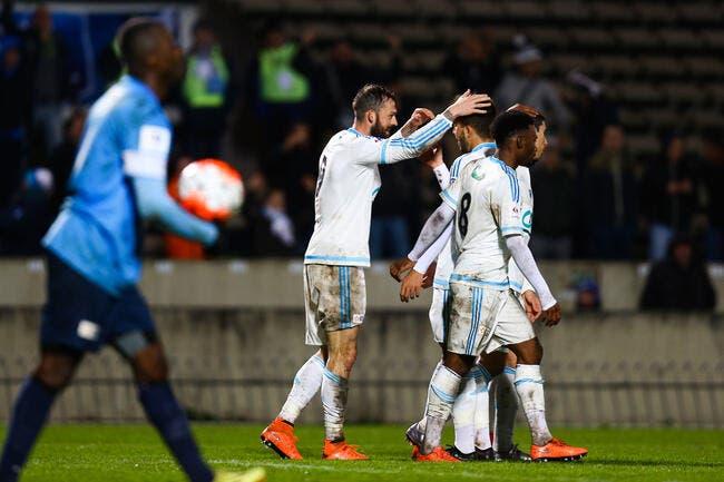 Vidéo : Les buts de Trélissac-OM (0-2)