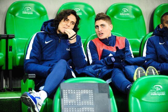 Verratti et Pastore pas titulaires contre Chelsea