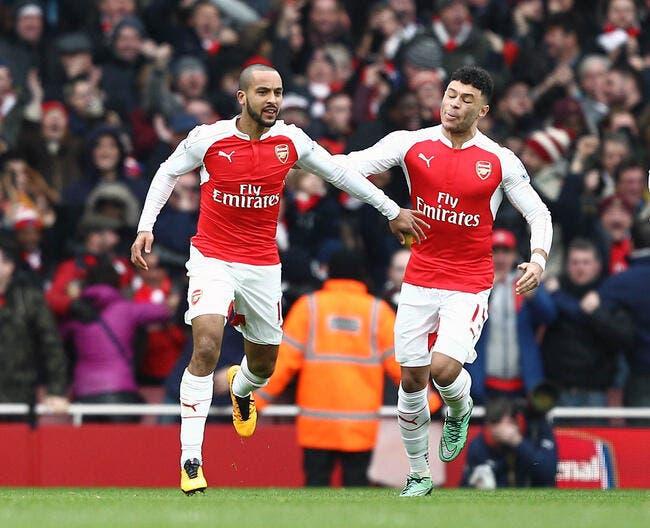 Arsenal fait son come-back sur Leicester et dans la course au titre