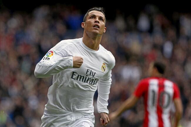 Cristiano Ronaldo à l'extérieur, c'est zéro !