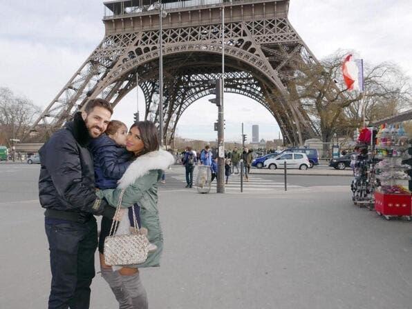 Photo: Fabregas déjà à Paris… pour la Saint-Valentin