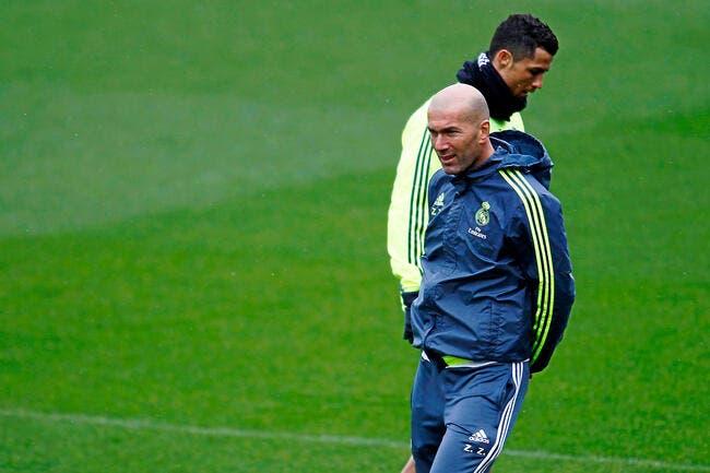Cristiano Ronaldo a un «putain de niveau» s'enflamme Zidane