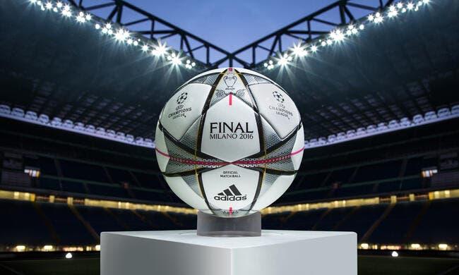 Adidas dévoile Finale Milano le Ballon de la Ligue des champions