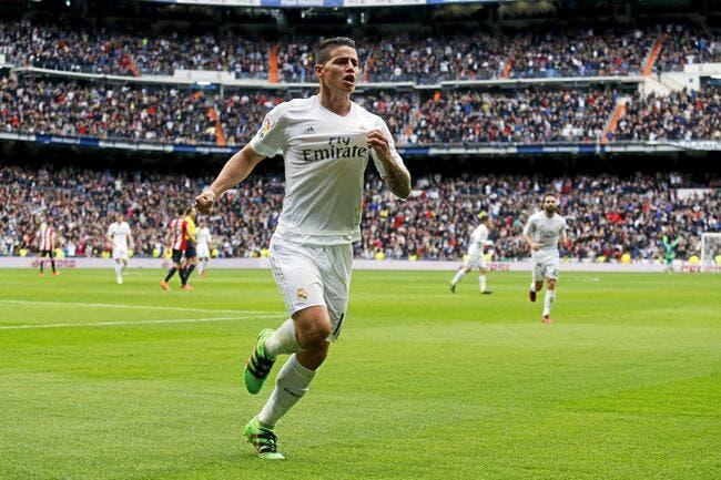 Les secrets du salaire de James Rodriguez à Madrid dévoilés