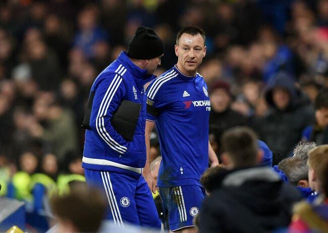 Terry privé de PSG-Chelsea