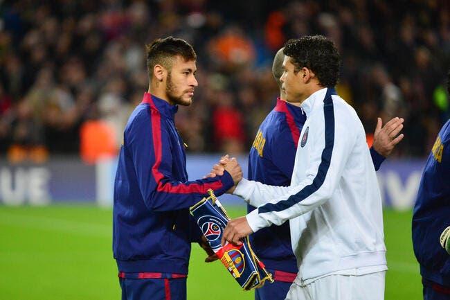 PSG : Thiago Silva veut Neymar plus que Cristiano Ronaldo