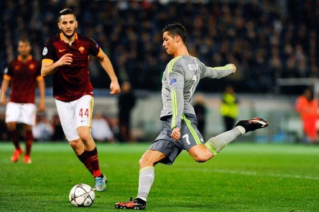 Le Real Madrid sauce Zidane en ballotage très favorable contre Rome