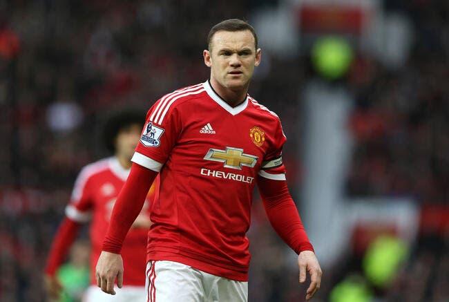 Man Utd : Rooney absent deux mois ?