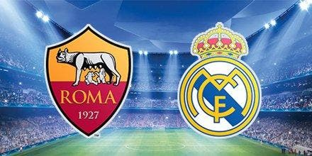 Roma - Real madrid : Les compos (20h45 sur Canal+)