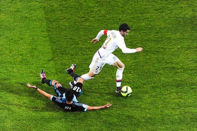 OL: Gonalons incertain pour le match à Lille