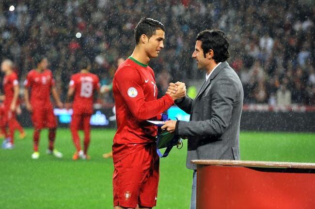 PSG : Figo déconseille MU et Paris à Cristiano Ronaldo