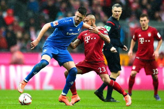 Bayern Munich - Darmstadt : 3-1