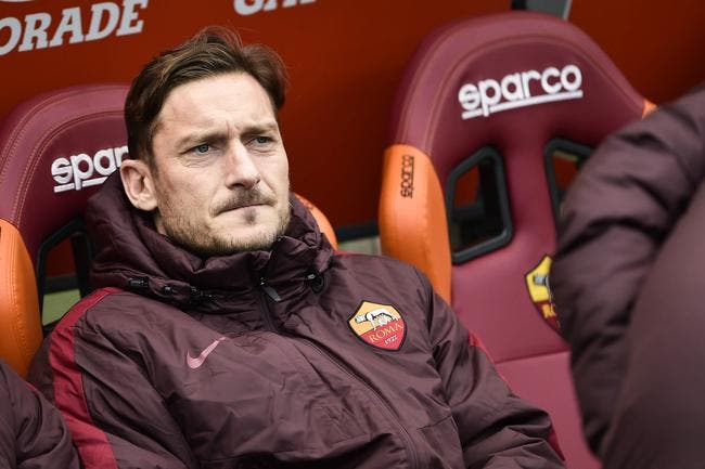 Roma : Totti viré du groupe avant le match !