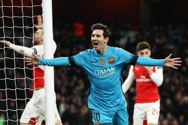 Arsenal-Barça: Le plan anti-Messi a marché, il n'a mis que deux buts...
