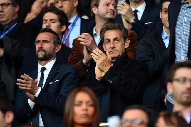 PSG : Sarkozy est à la bourre, il a été puni 45 minutes