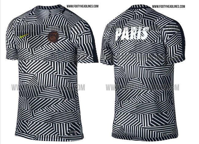 PSG : Un maillot d'entraînement 2016-2017 révolutionnaire ?