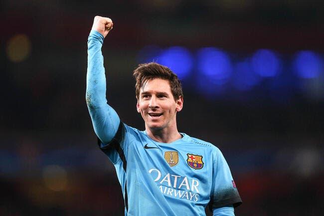 Lionel Messi puissance 10.000 dans la légende du Barça