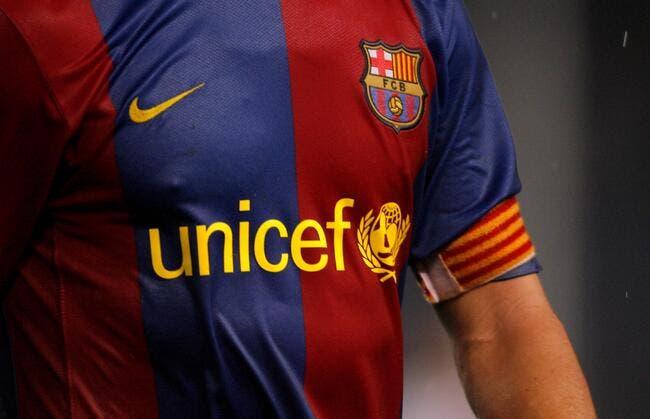 Barcelone : 2 ME par an versés à l'UNICEF