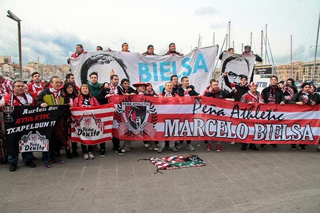 Incidents entre supporters avant Bilbao-OM