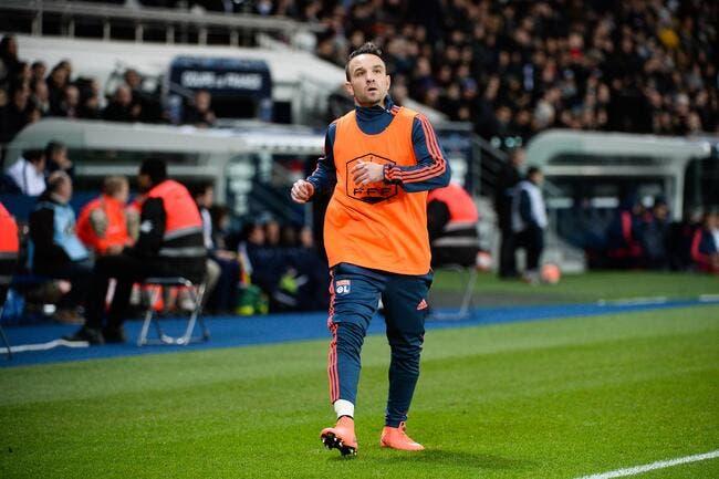 OL: Valbuena forfait pour Lyon-PSG