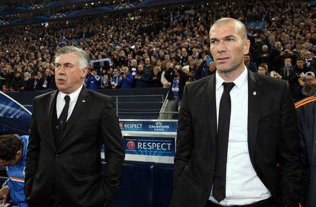 Pour Zidane, Ancelotti fait une requête au Real Madrid