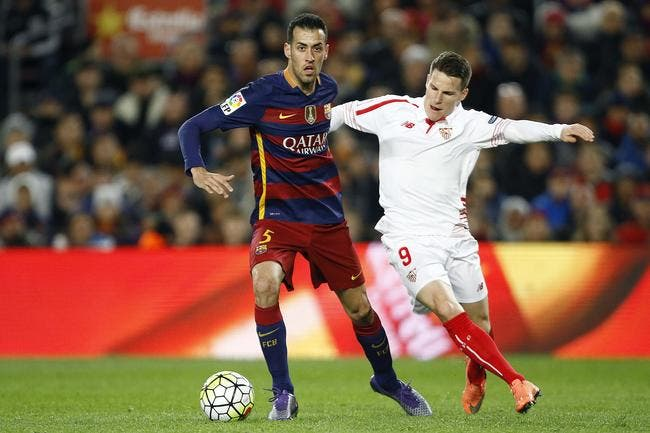 Barcelone - Séville : 2-1